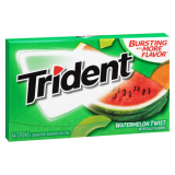 TRIDENT WATERMELON TWIST 14 PLÁTKŮ 27G