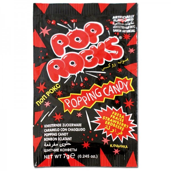Pop Rocks Jahoda