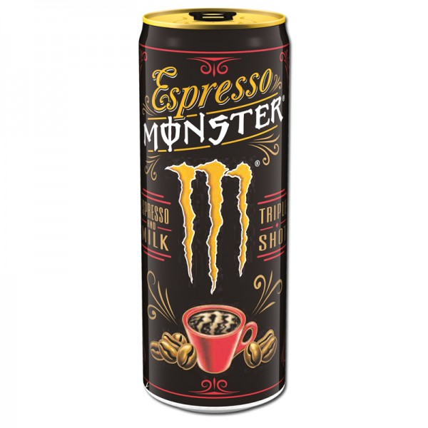 Espresso Monster Milk Energy Drink 0,25l
