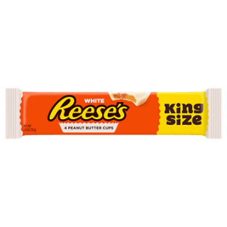 REESE'S WHITE PEANUT BUTTER CUPS KING SIZE 79G