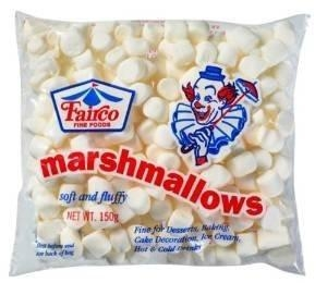FAIRCO MINI WHITE MARSHMALLOWS 150G