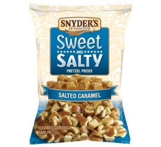 SNYDER'S SWEET & SALTY SALTED CARAMEL 100G