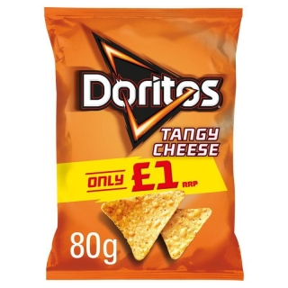 DORITOS TANGY CHEESE 80G