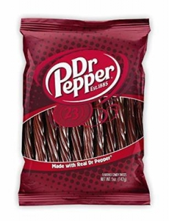 DR. PEPPER LIQUORICE TWISTS 142G